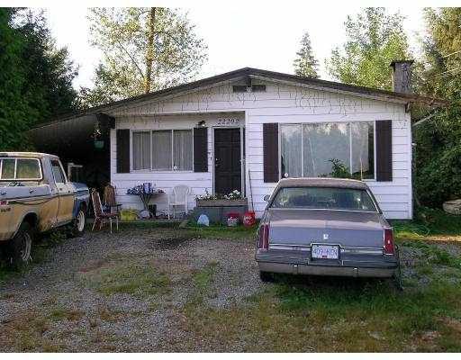 Main Photo: 22202 132ND AV in Maple Ridge: West Central House for sale : MLS®# V604058