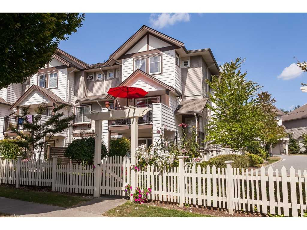 """Main Photo: 76 4401 BLAUSON Boulevard in Abbotsford: Abbotsford East Townhouse for sale in """"THE SAGE"""" : MLS®# R2485682"""
