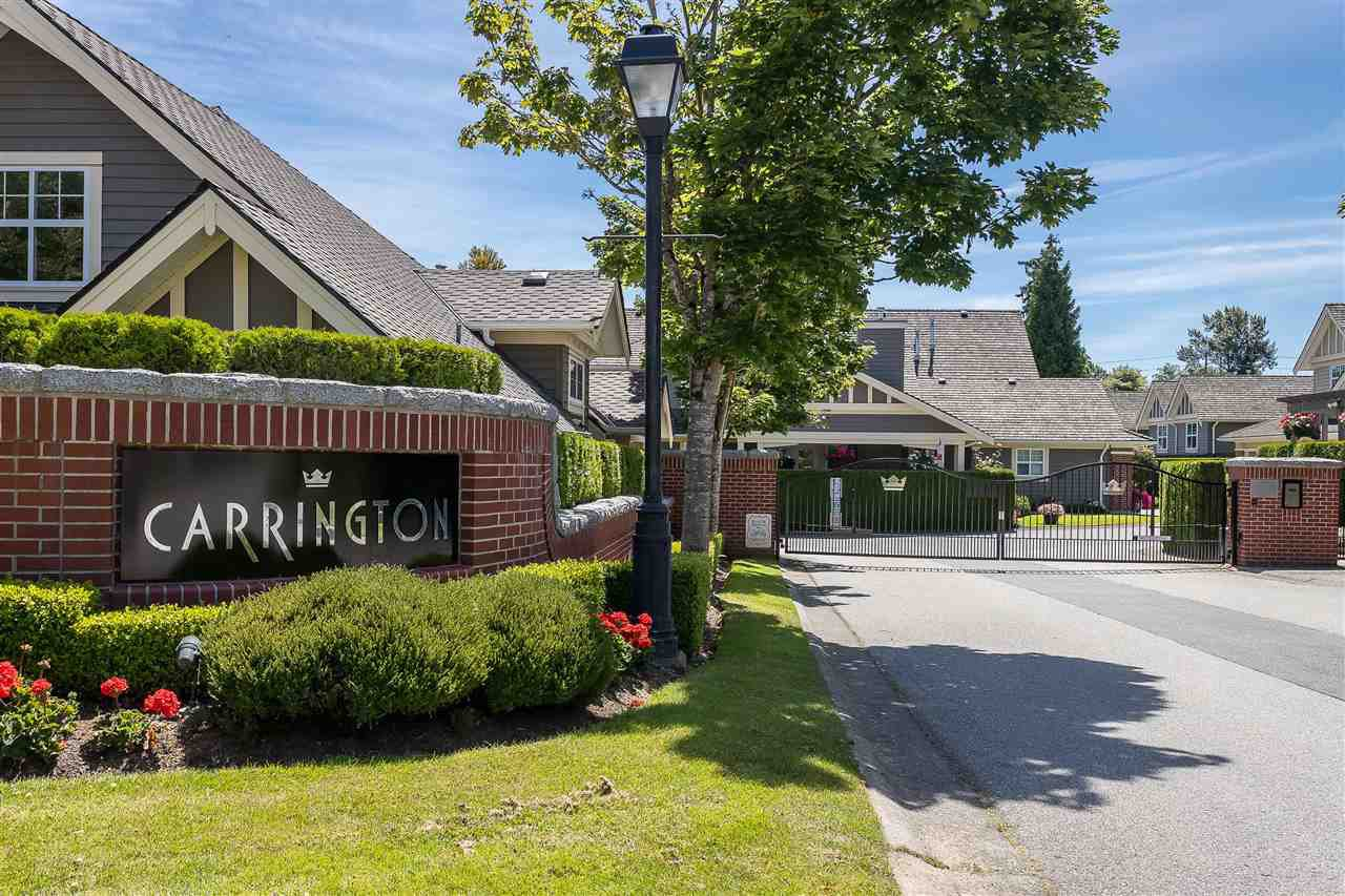 "Main Photo: 122 15500 ROSEMARY HEIGHTS Crescent in Surrey: Morgan Creek Townhouse for sale in ""THE CARRINGTON"" (South Surrey White Rock)  : MLS®# R2493967"