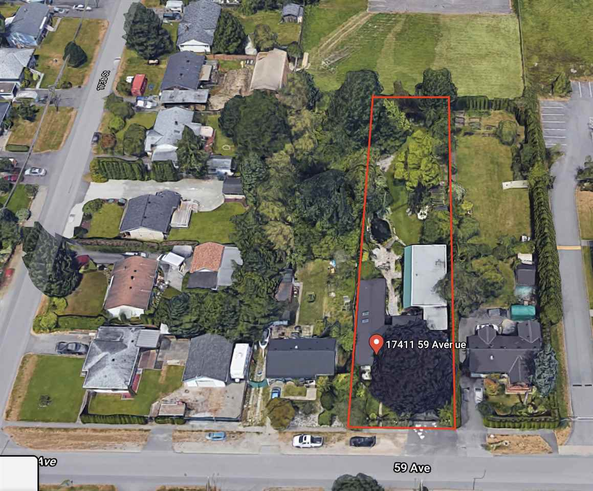 Main Photo: 17411 59 Avenue in Surrey: Cloverdale BC Land Commercial for sale (Cloverdale)  : MLS®# C8034261