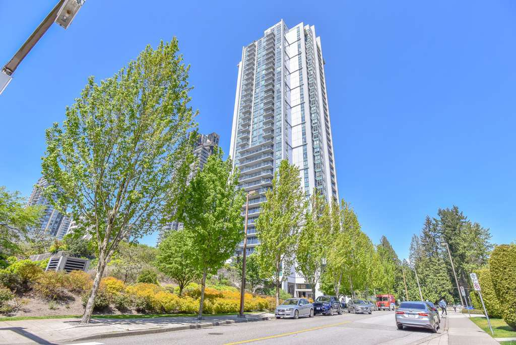 "Main Photo: 1608 1178 HEFFLEY Crescent in Coquitlam: North Coquitlam Condo for sale in ""Obelisk"" : MLS®# R2395432"