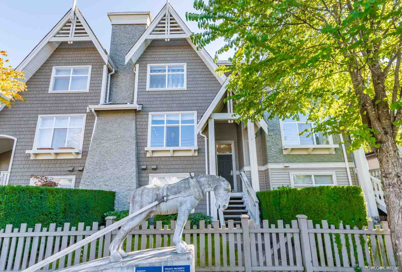 Main Photo: 2 7288 HEATHER Street in Richmond: McLennan North Townhouse for sale : MLS®# R2410050