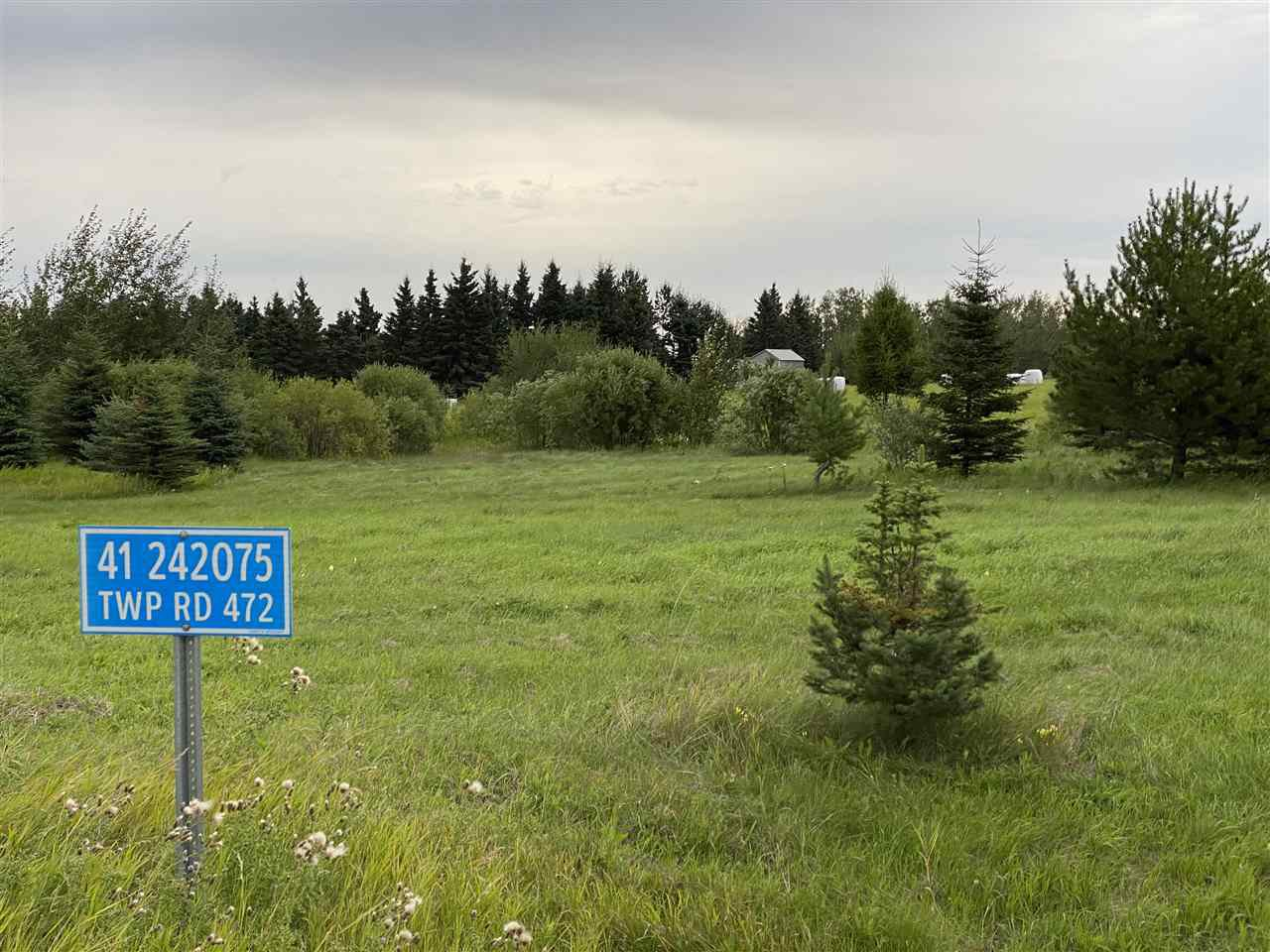 Main Photo: 41 242075 TWP RD 472: Rural Wetaskiwin County Rural Land/Vacant Lot for sale : MLS®# E4211566