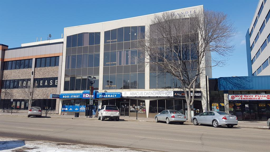 Main Photo: Second Floor 4814 50 Street in Red Deer: Downtown Red Deer Commercial for lease : MLS®# A1024633