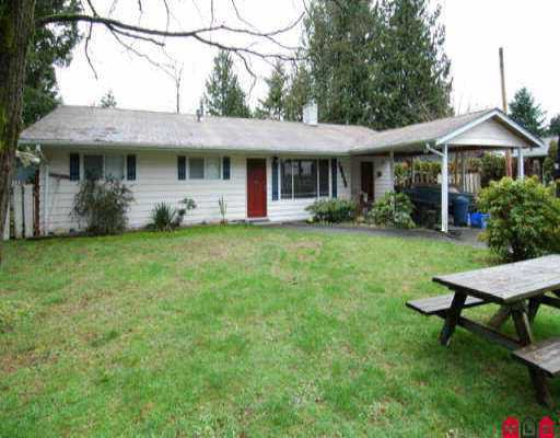 Main Photo: 19856 36A AV in Langley: Brookswood Langley House for sale : MLS®# F2601974