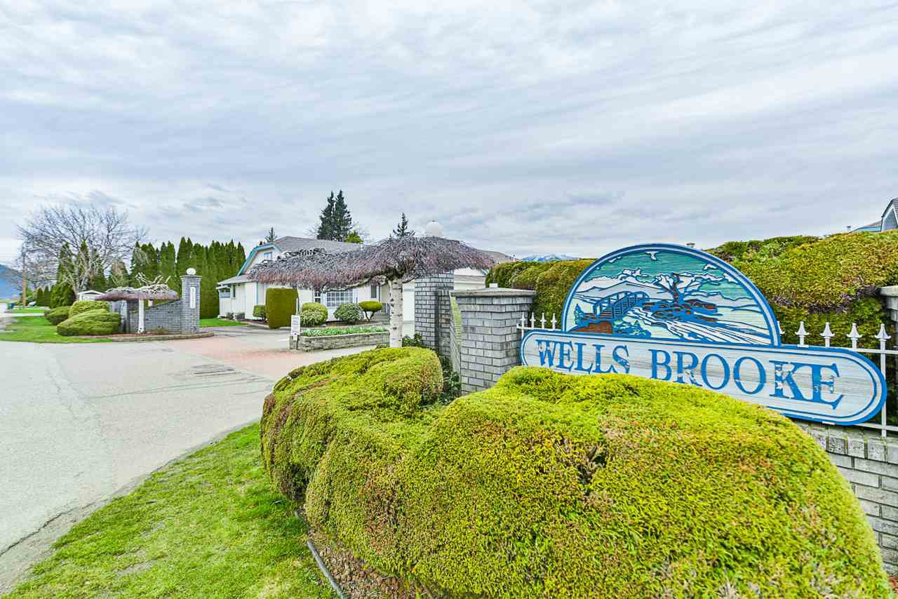 "Main Photo: 23 45175 WELLS Road in Chilliwack: Sardis West Vedder Rd Townhouse for sale in ""Wellsbrook"" (Sardis)  : MLS®# R2442727"