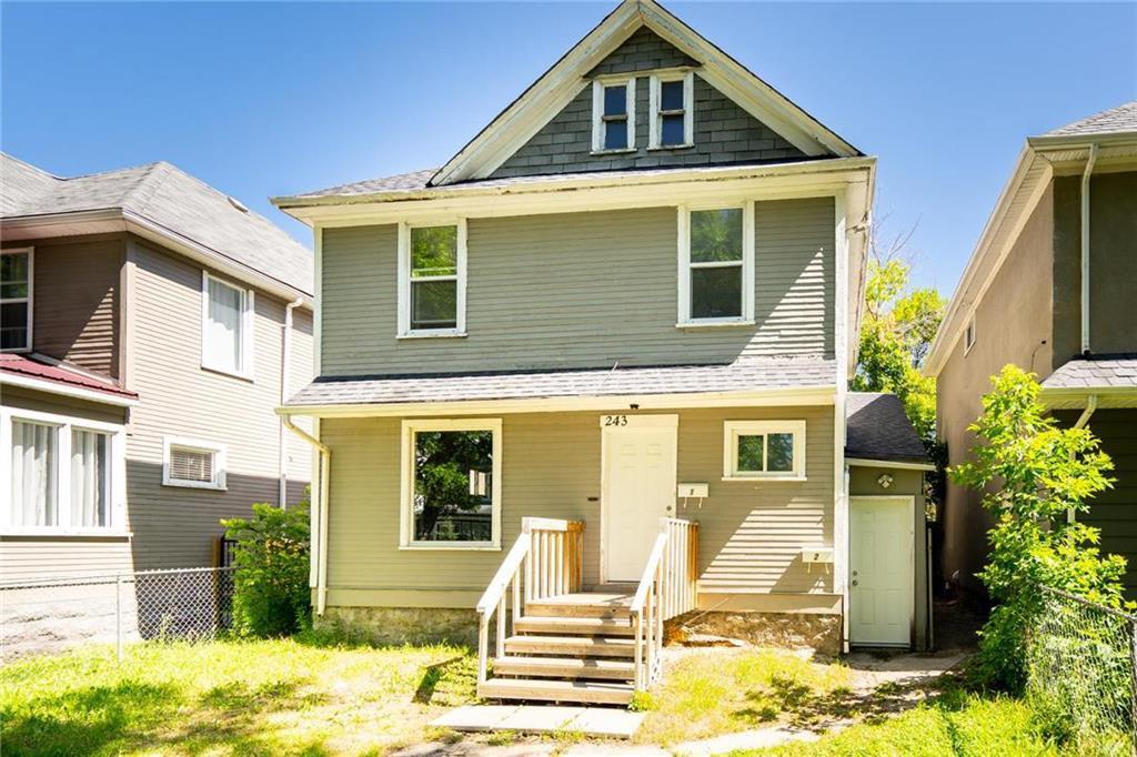 Main Photo: 243 Atlantic Avenue in Winnipeg: North End Residential for sale (4C)  : MLS®# 202016115