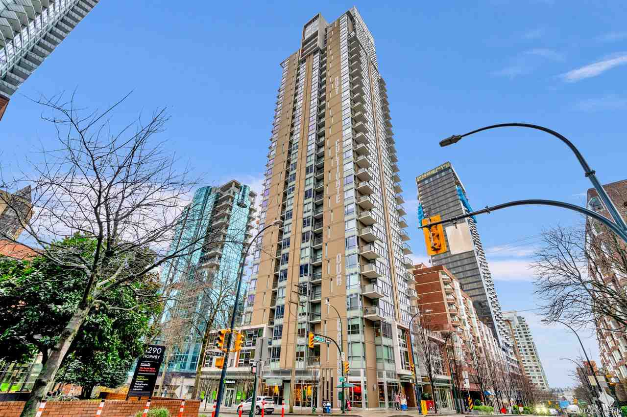Main Photo: 1605 1308 HORNBY Street in Vancouver: Downtown VW Condo for sale (Vancouver West)  : MLS®# R2523789