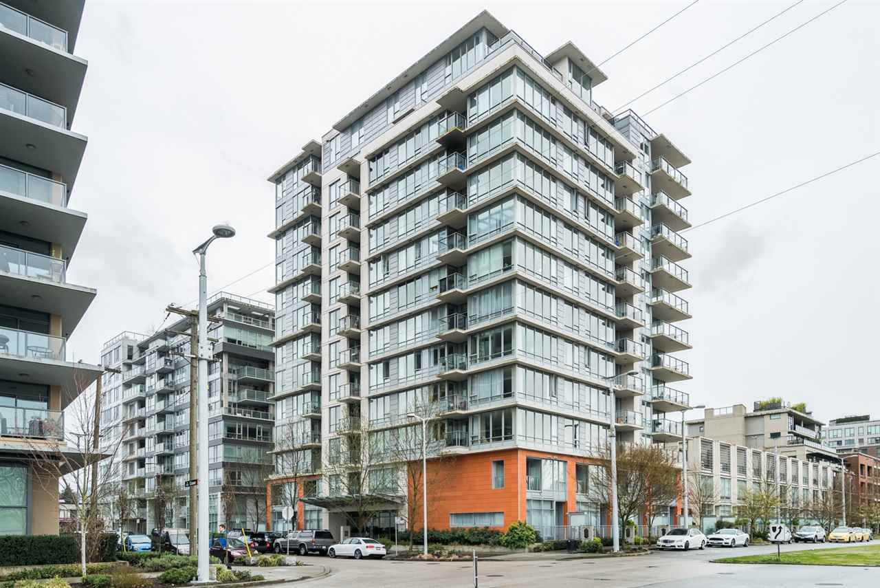 Main Photo: 609 1833 CROWE STREET in Vancouver West: False Creek Condo for sale ()  : MLS®# R2049646