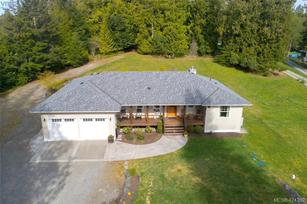 Main Photo: 801 Chapman Road in COBBLE HILL: ML Cobble Hill Single Family Detached for sale (Malahat & Area)  : MLS®# 424282