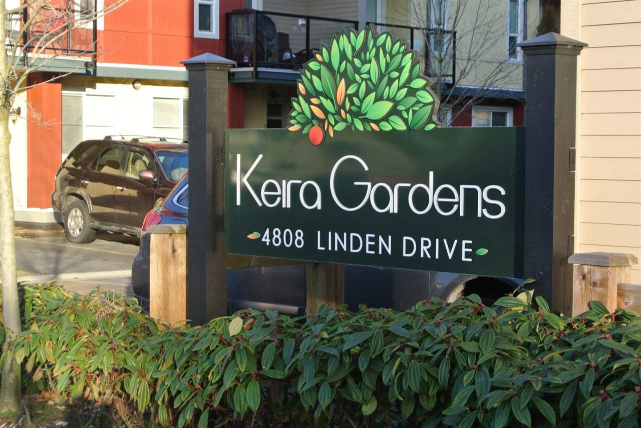 "Main Photo: 204 4808 LINDEN Drive in Delta: Hawthorne Townhouse for sale in ""KIERA GARDEN"" (Ladner)  : MLS®# R2416027"