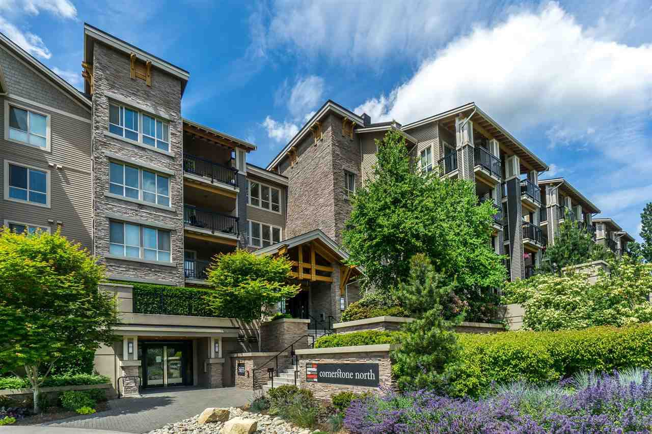 "Main Photo: 128 5655 210A Street in Langley: Salmon River Condo for sale in ""CORNERSTONE NORTH"" : MLS®# R2454323"