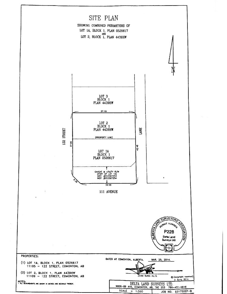 Main Photo: 11109 122 Street in Edmonton: Zone 07 Land Commercial for sale : MLS®# E4172072