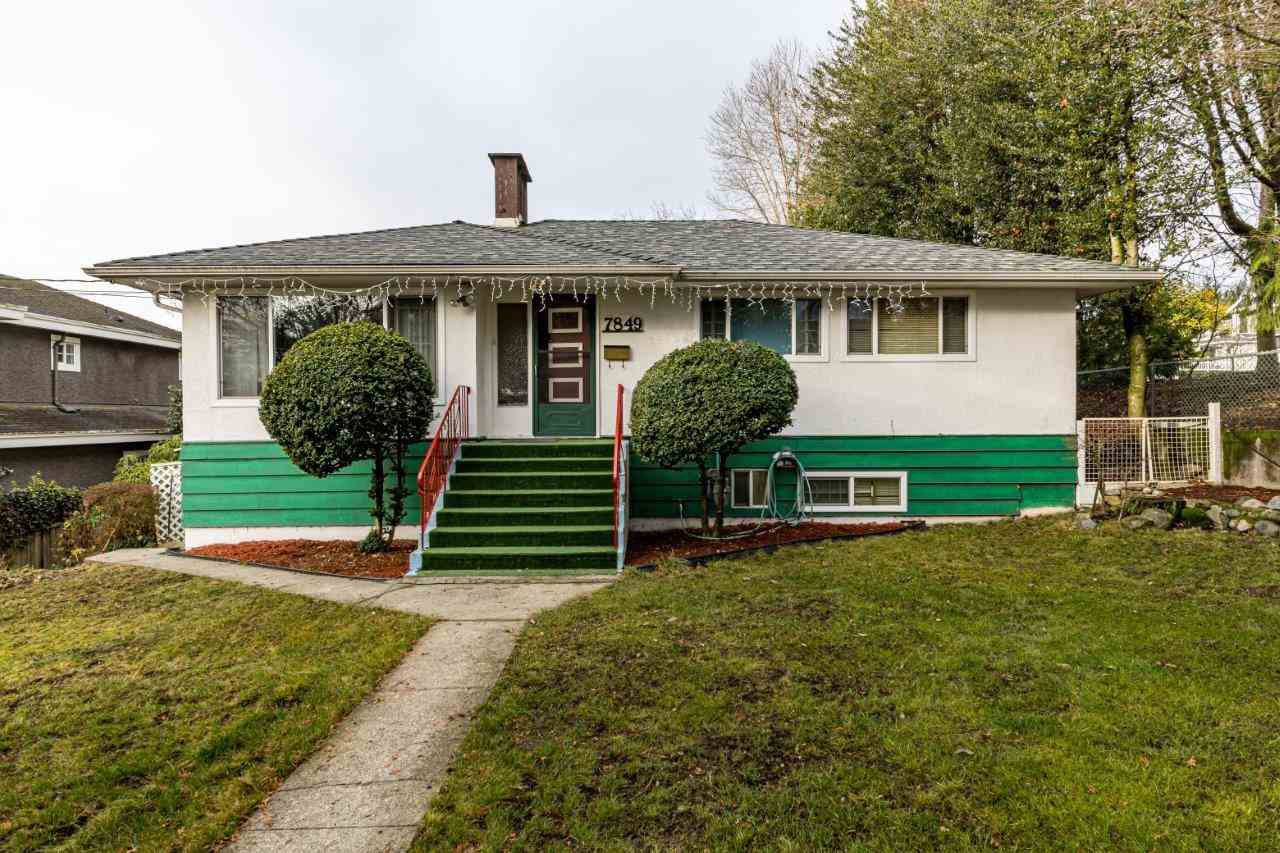 Main Photo: 7849 MCKAY Avenue in Burnaby: South Slope House for sale (Burnaby South)  : MLS®# R2423985