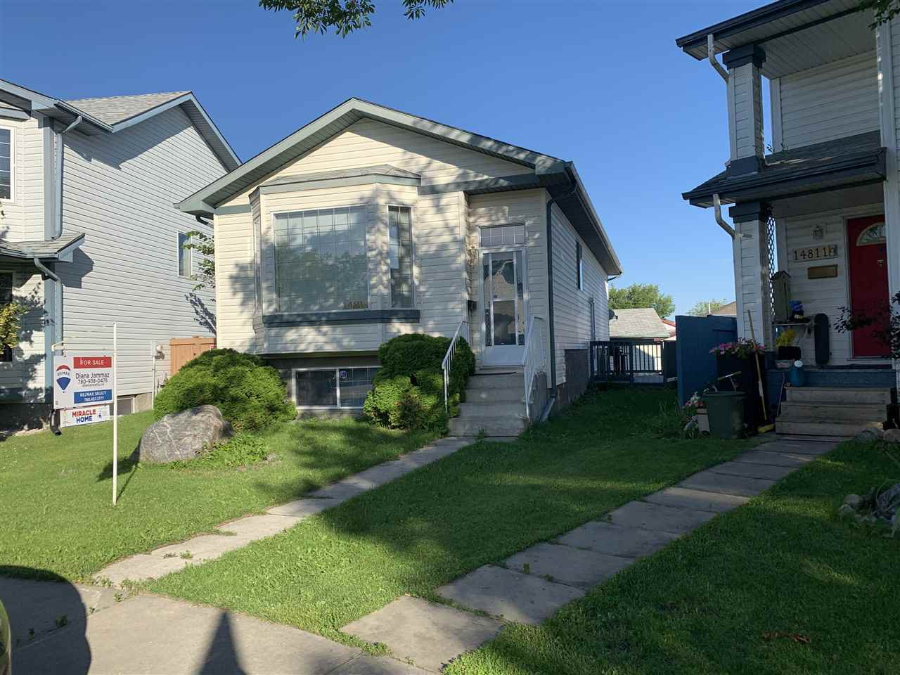 Main Photo: 14815 47 Street NW in Edmonton: Zone 02 House for sale : MLS®# E4204725