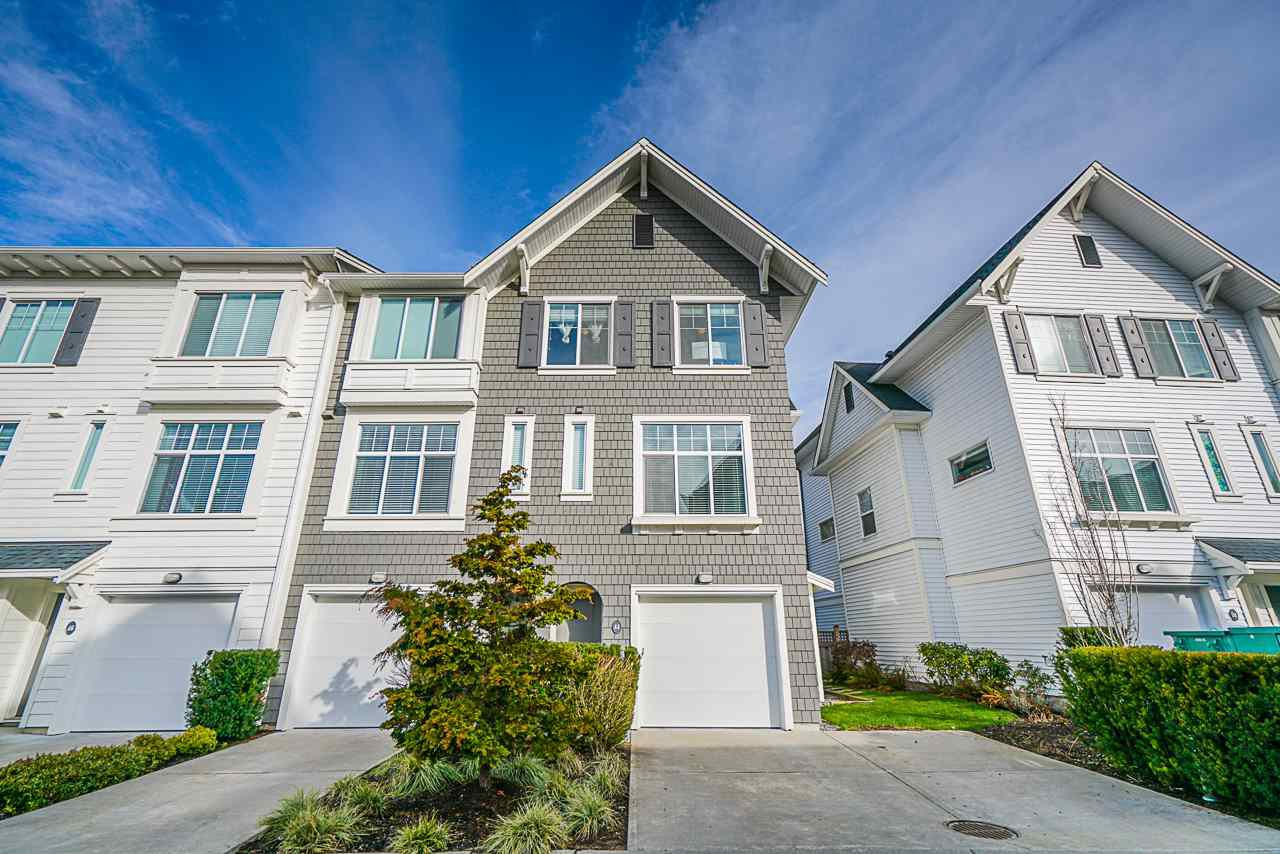 "Main Photo: 44 18681 68 Avenue in Surrey: Clayton Townhouse for sale in ""Creekside"" (Cloverdale)  : MLS®# R2441096"