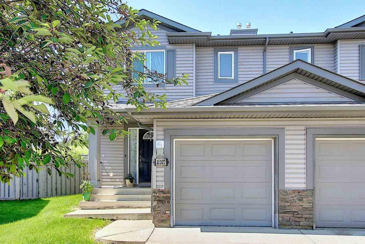 Main Photo: 21327 48 Avenue in Edmonton: Zone 58 House Half Duplex for sale : MLS®# E4202733