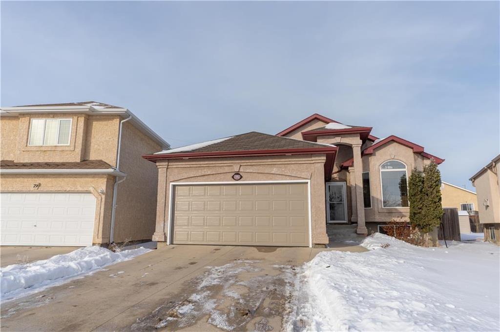 Main Photo: 75 Wayfield Drive in Winnipeg: Richmond West Residential for sale (1S)  : MLS®# 202100155