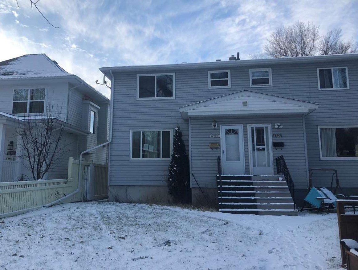 Main Photo: 12806 123A Street in Edmonton: Zone 01 House Half Duplex for sale : MLS®# E4181331