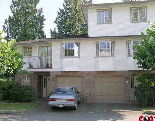 "Main Photo: 14 10045 154TH ST in Surrey: Guildford Townhouse for sale in ""HEATHERTON"" (North Surrey)  : MLS®# F2518689"