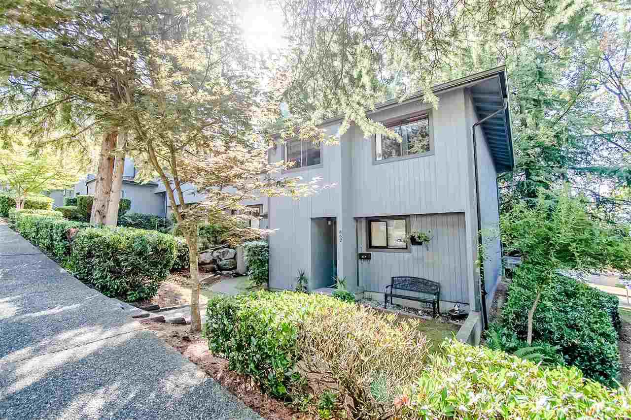 "Main Photo: 862 BLACKSTOCK Road in Port Moody: North Shore Pt Moody Townhouse for sale in ""WOODSIDE VILLAGE"" : MLS®# R2395693"