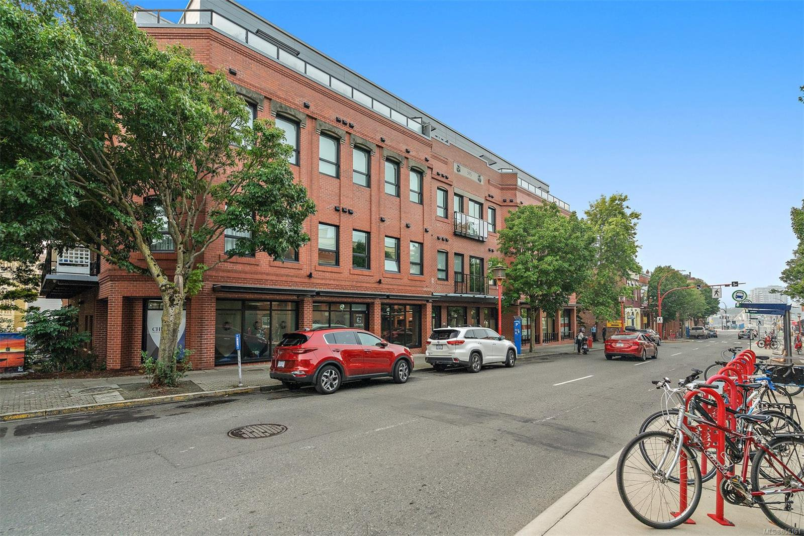 Main Photo: 208 595 Pandora Ave in : Vi Downtown Condo for sale (Victoria)  : MLS®# 856161