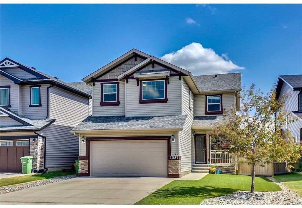 Main Photo: 2087 Luxstone Boulevard SW: Airdrie Detached for sale : MLS®# A1047404