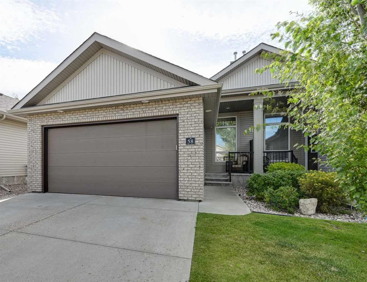 Main Photo: 58 700 REGENCY Drive: Sherwood Park House Half Duplex for sale : MLS®# E4212759