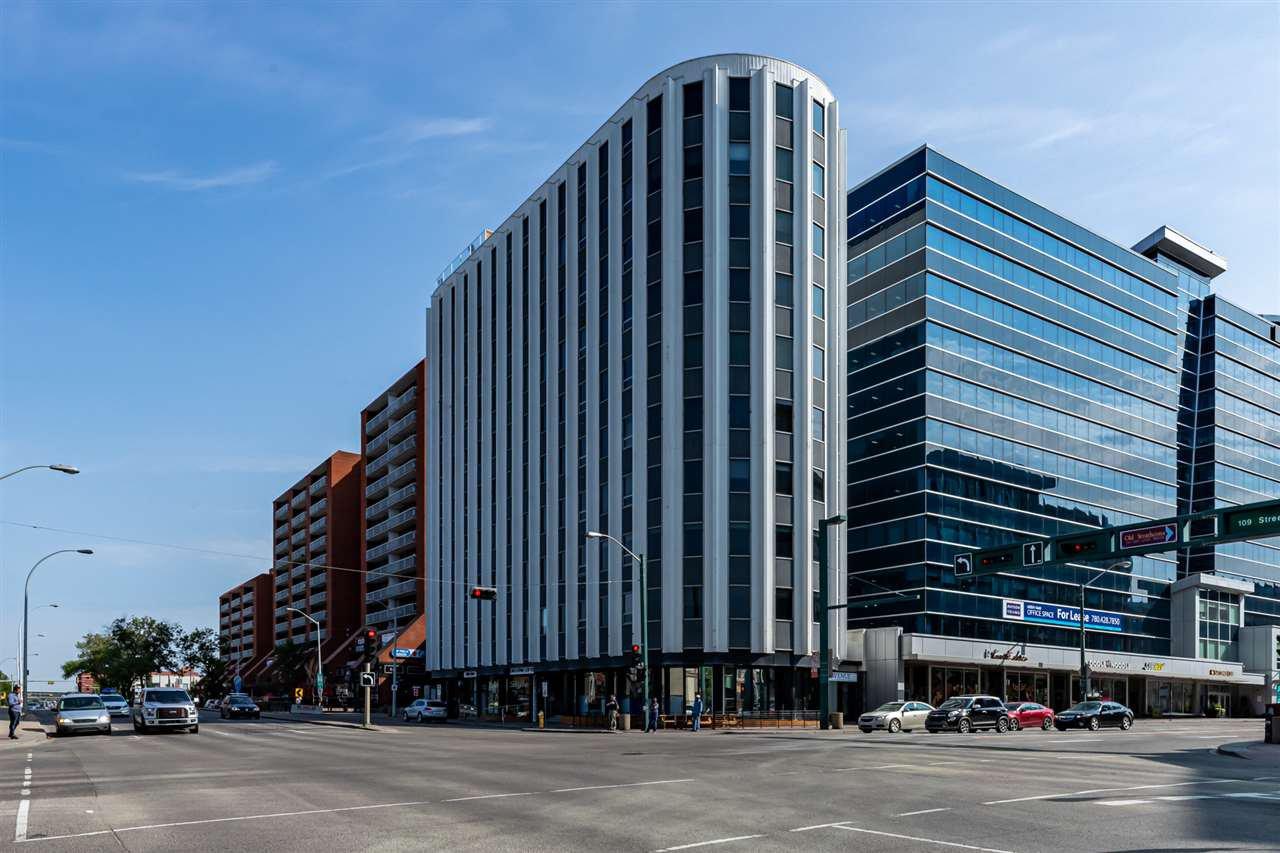 Main Photo: 904 10105 109 Street in Edmonton: Zone 12 Condo for sale : MLS®# E4179323