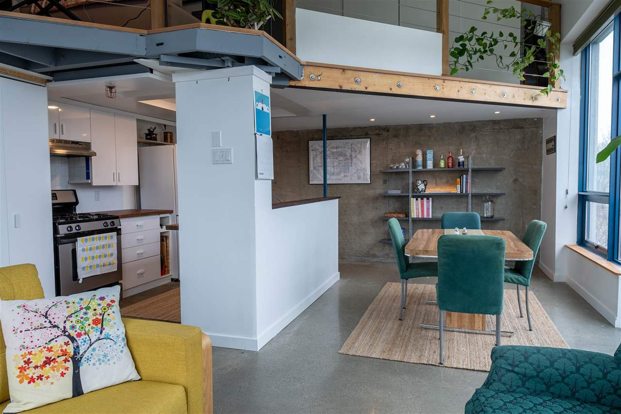 """Main Photo: 321 2001 WALL Street in Vancouver: Hastings Condo for sale in """"Cannery Row"""" (Vancouver East)  : MLS®# R2423878"""