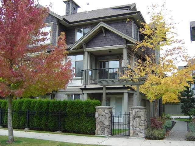 Main Photo: 40 6233 BIRCH STREET in Richmond: McLennan North Townhouse for sale ()  : MLS®# V1002196
