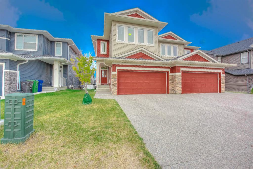 Main Photo: 36 EVANSGLEN Close NW in Calgary: Evanston Semi Detached for sale : MLS®# A1037291