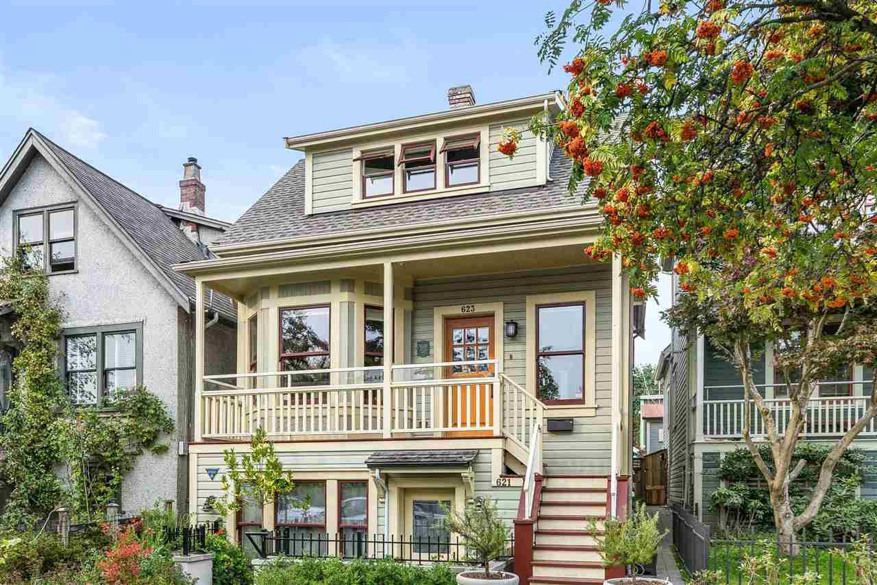"""Main Photo: 623 ATLANTIC Street in Vancouver: Strathcona House 1/2 Duplex for sale in """"The Peneway Residence"""" (Vancouver East)  : MLS®# R2505261"""