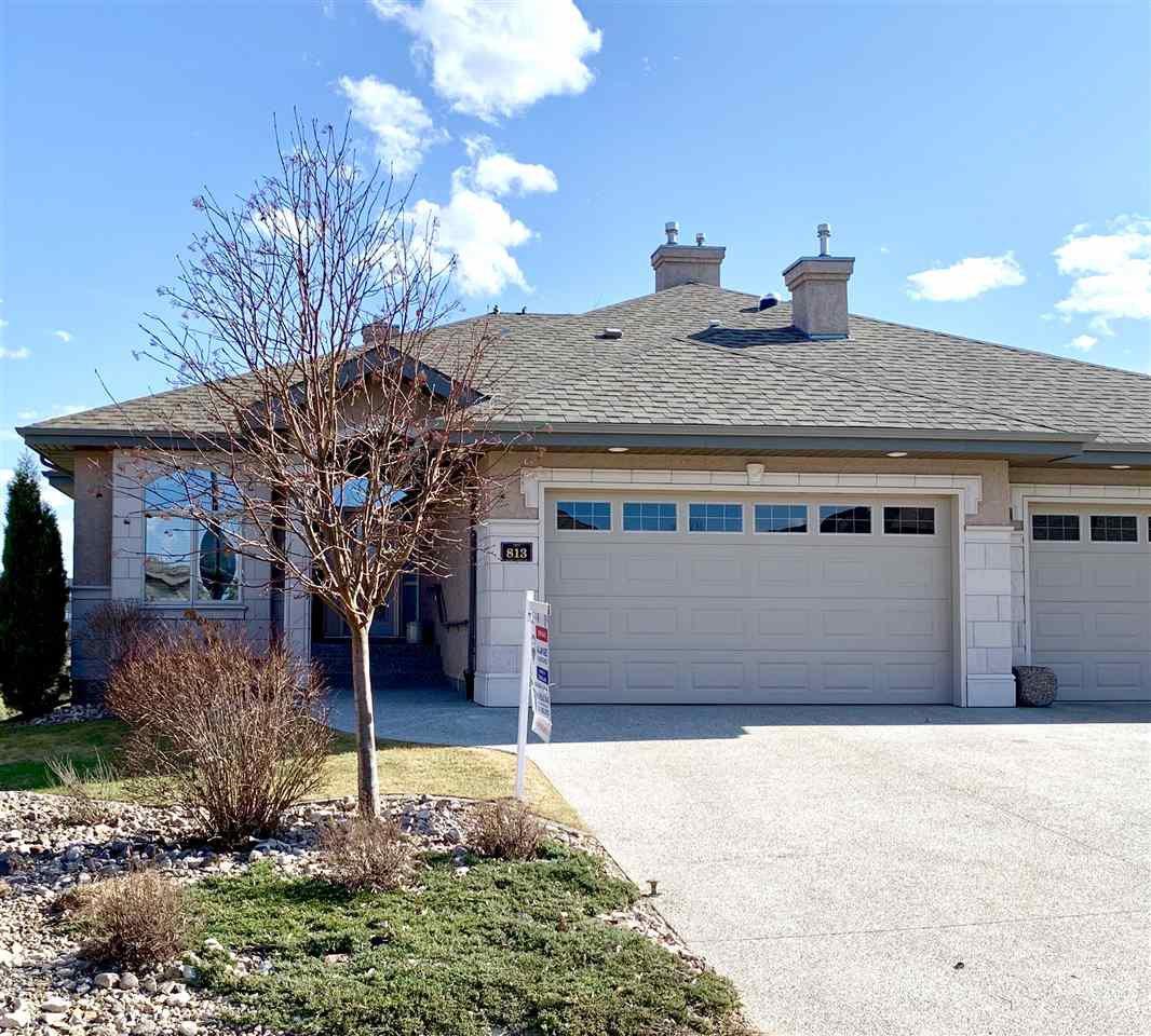 Main Photo: 813 MASSEY Landing in Edmonton: Zone 14 House Half Duplex for sale : MLS®# E4185545