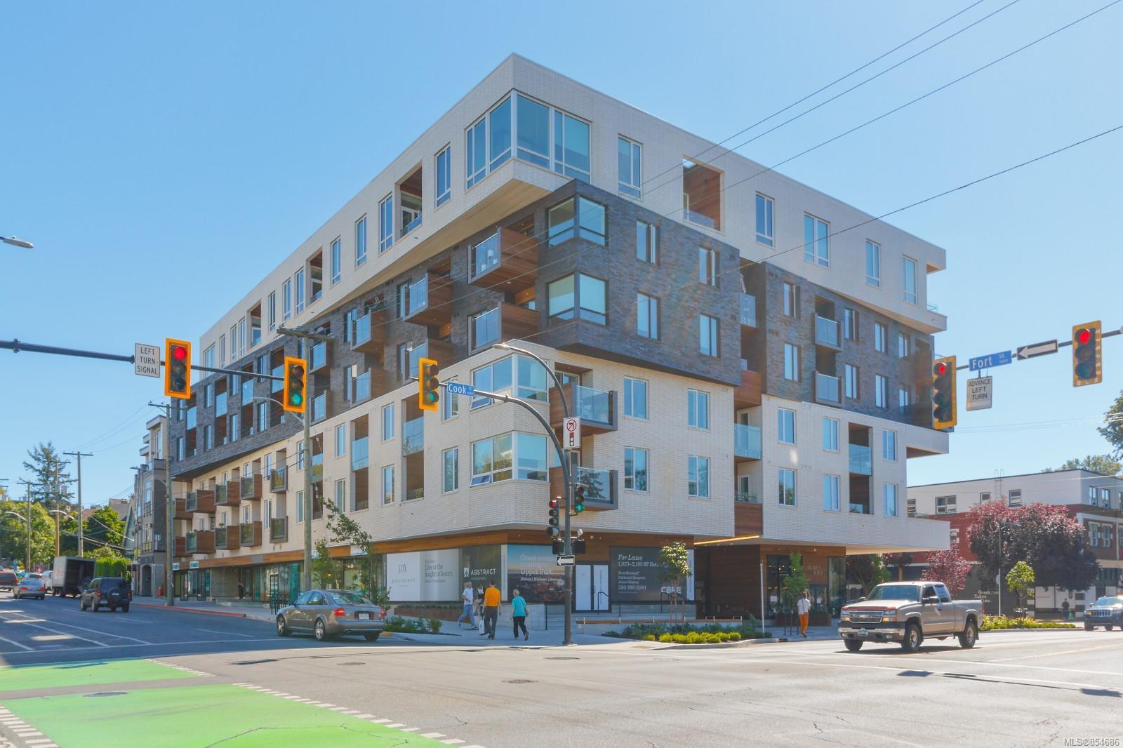 Main Photo: 405 1033 Cook St in : Vi Downtown Condo for sale (Victoria)  : MLS®# 854686