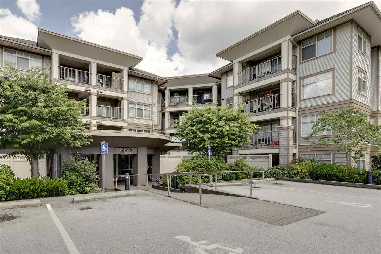 "Main Photo: 206 12248 224 Street in Maple Ridge: East Central Condo for sale in ""URBANO"" : MLS®# R2388476"