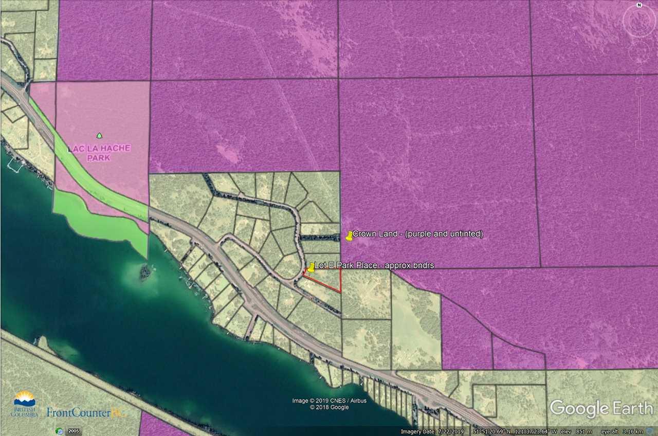 Photo 3: Photos: LOT E PARK Place: Lac la Hache Land for sale (100 Mile House (Zone 10))  : MLS®# R2415507
