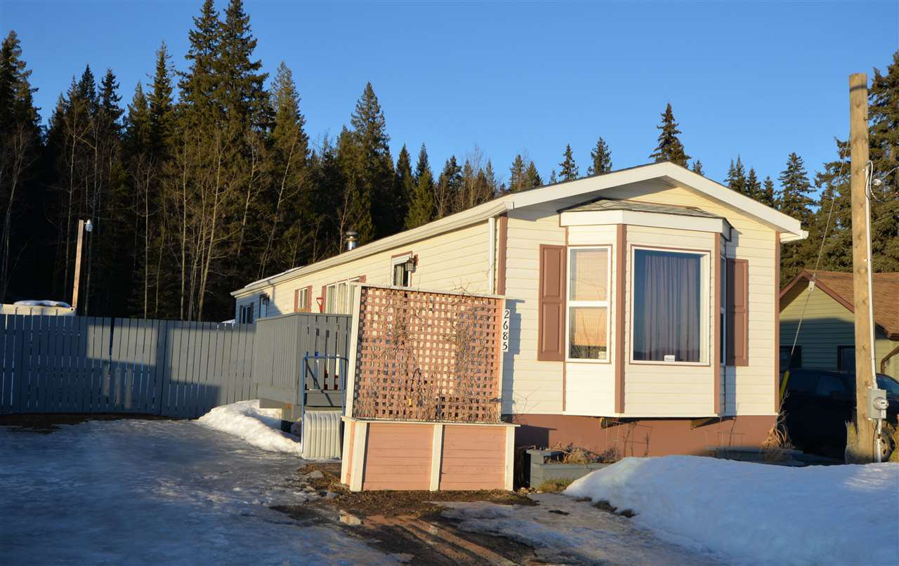 Main Photo: 2685 GUNN Road in Prince George: Airport Manufactured Home for sale (PG City South East (Zone 75))  : MLS®# R2432238