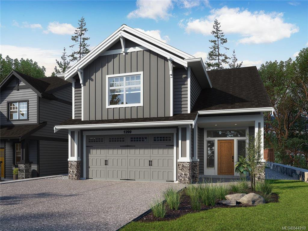 Main Photo: 1299 Flint Ave in Langford: La Bear Mountain Single Family Detached for sale : MLS®# 844219