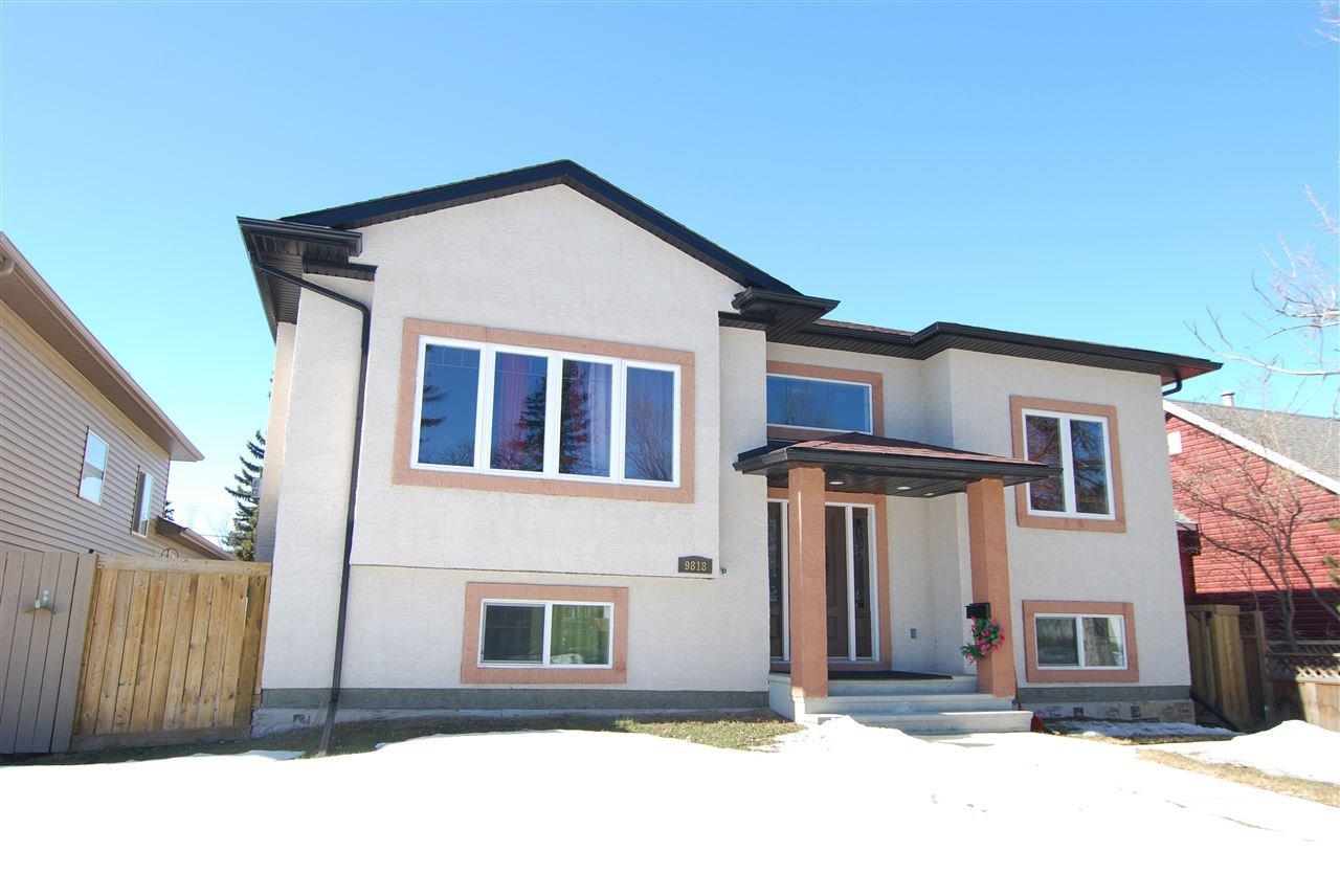 Main Photo: 9818 154 Street in Edmonton: Zone 22 House for sale : MLS®# E4170354