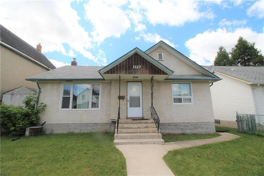 Main Photo: 1122 Garfield Street in Winnipeg: Sargent Park Residential for sale (5C)  : MLS®# 202013131