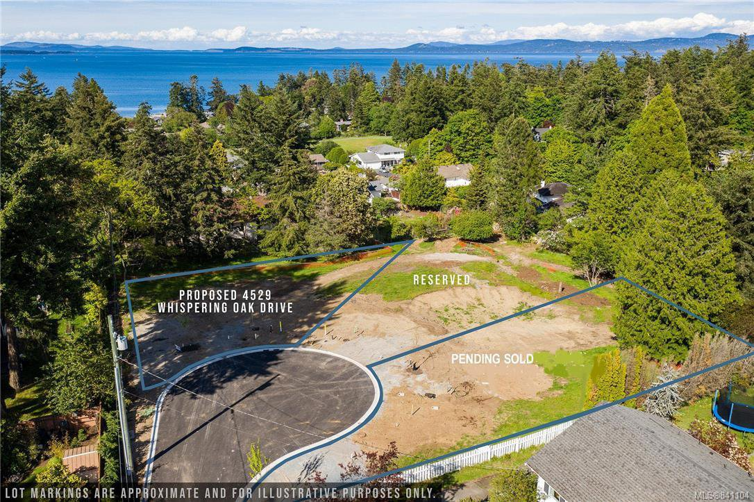 Main Photo: SLot 1 1906 Ferndale Rd in Saanich: SE Gordon Head Land for sale (Saanich East)  : MLS®# 841104