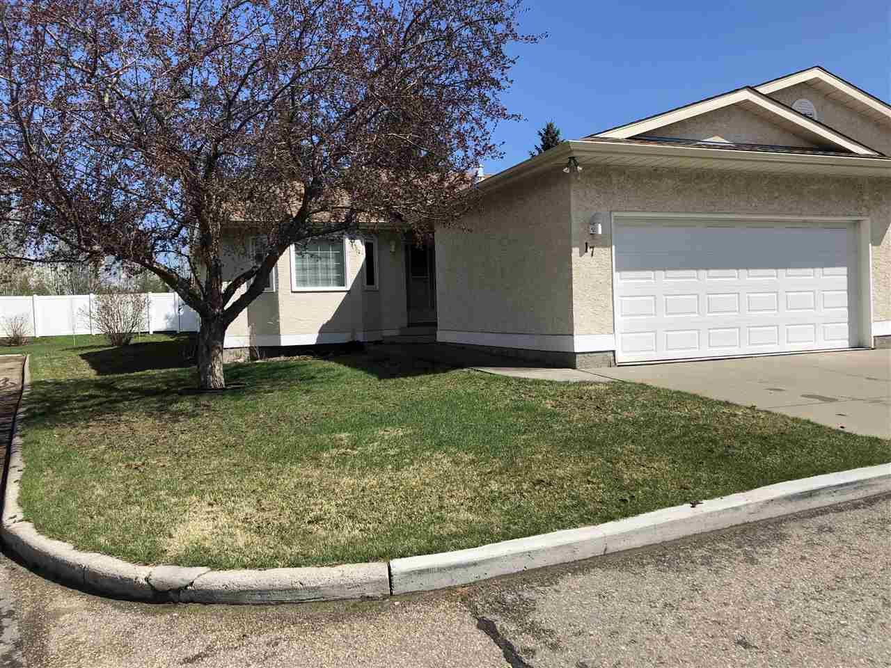 Main Photo: 17 9375 172 Street in Edmonton: Zone 20 Townhouse for sale : MLS®# E4208575