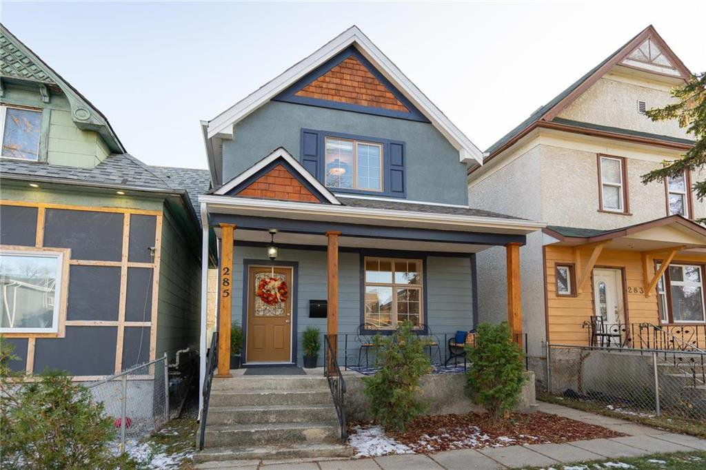 Main Photo: 285 Simcoe Street in Winnipeg: West End Residential for sale (5A)  : MLS®# 202027244