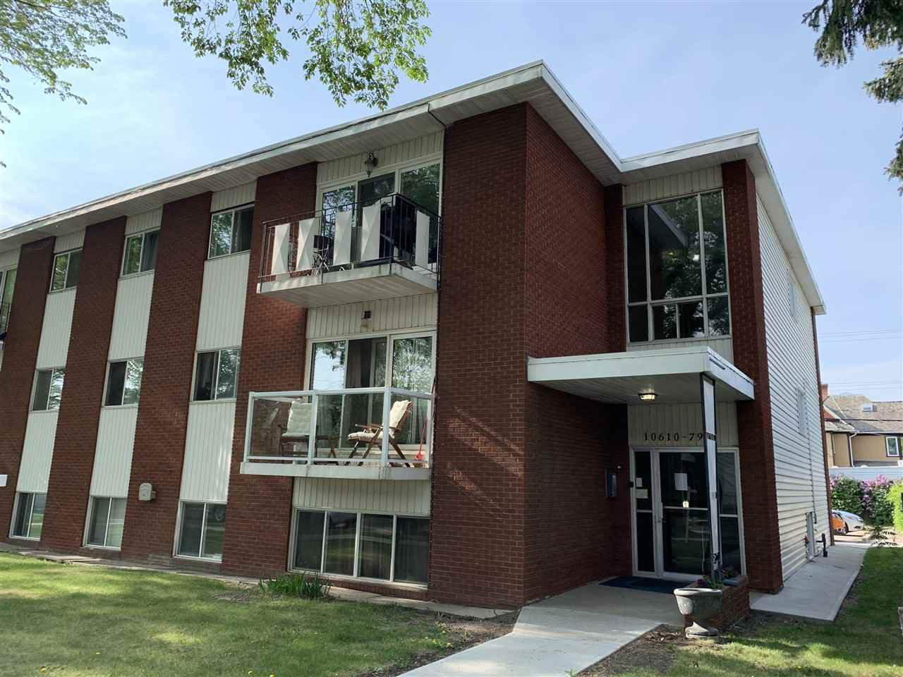 Main Photo: 101 10610 79 Avenue in Edmonton: Zone 15 Condo for sale : MLS®# E4165698