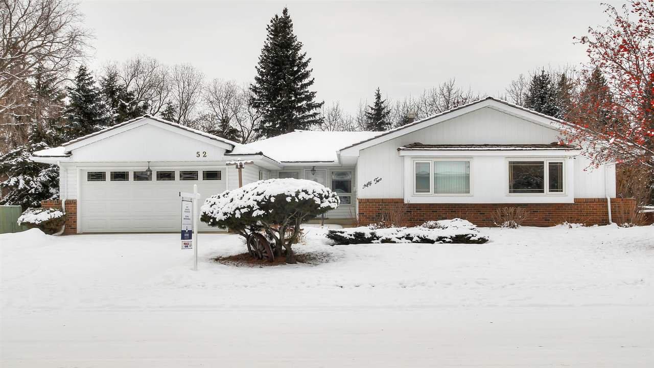 Main Photo: 52 Marlboro Road in Edmonton: Zone 16 House for sale : MLS®# E4181931