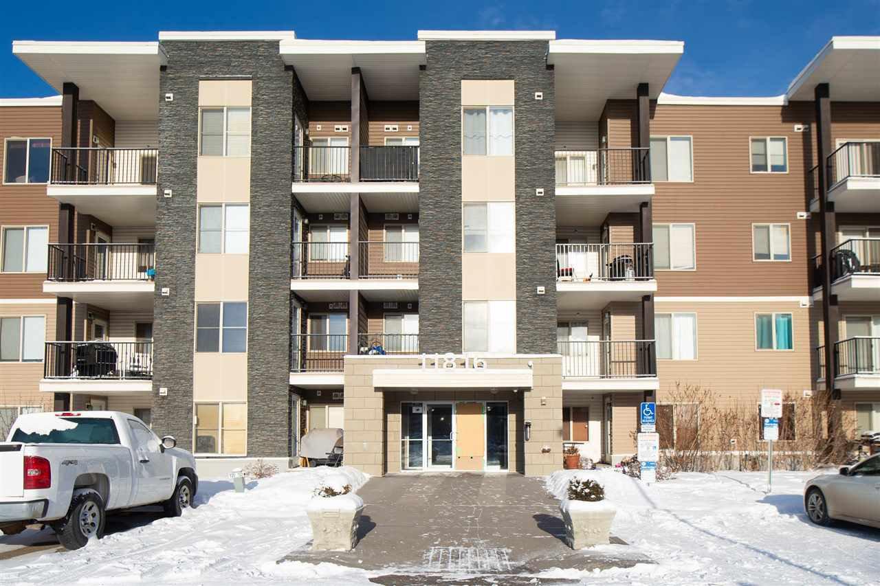 Main Photo: 215 11816 22 Avenue in Edmonton: Zone 55 Condo for sale : MLS®# E4184530