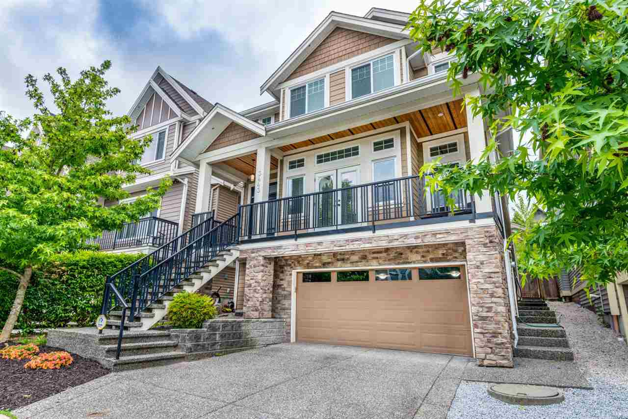 Main Photo: 3443 GISLASON Avenue in Coquitlam: Burke Mountain House for sale : MLS®# R2389754