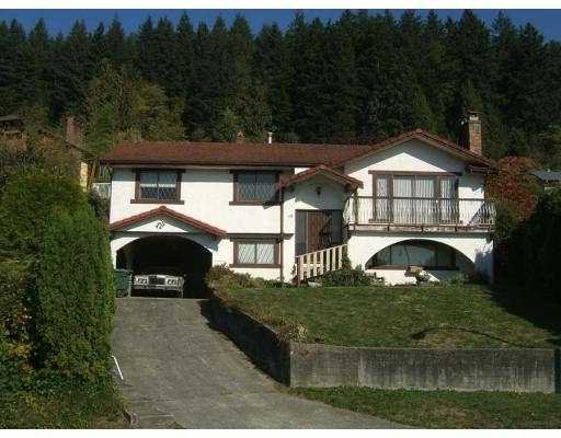 Main Photo: 18 BENSON Drive in Port Moody: North Shore Pt Moody House for sale : MLS®# V617509