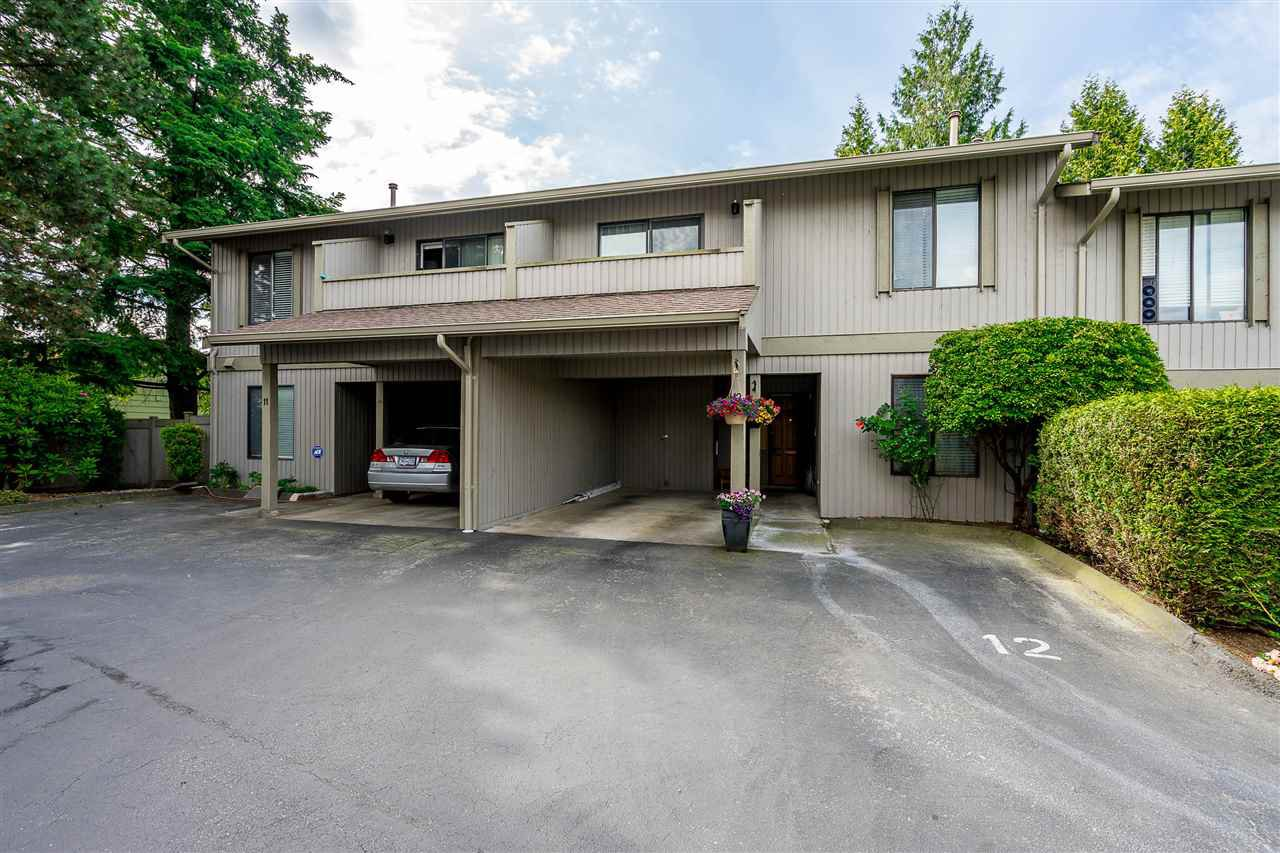 "Main Photo: 12 32858 LANDEAU Place in Abbotsford: Central Abbotsford Townhouse for sale in ""Landeau Terrace"" : MLS®# R2483732"